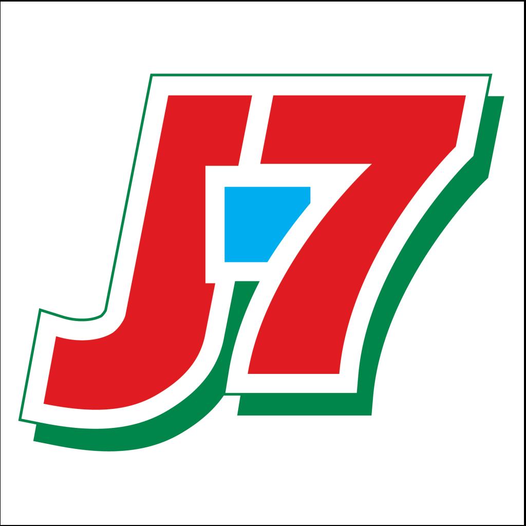 Логотип J7 (Джей Севен) / Продукты / TopLogos.ru