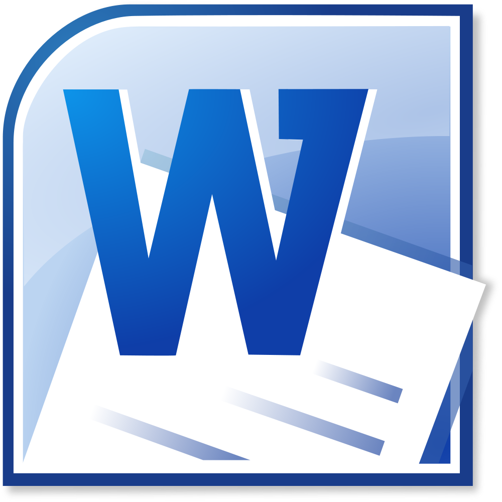 Логотип Microsoft Word (Майкрософт Ворд) / Программы / TopLogos.ru