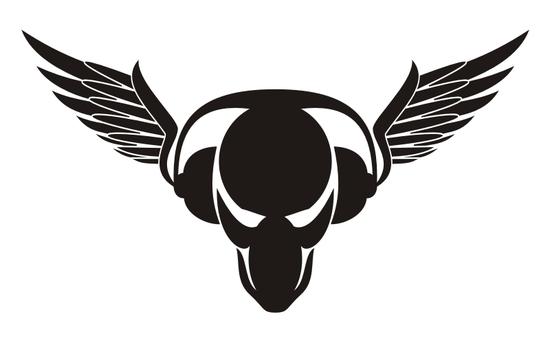 логотип пиратской станции: