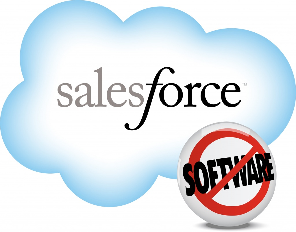 Логотип Salesforce