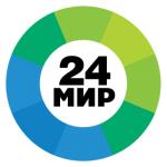Логотип Мир 24
